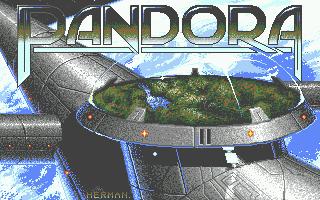 Pandora Atari ST  Pantalla de carga