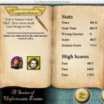 A Series of Unfortunate Events Windows  score