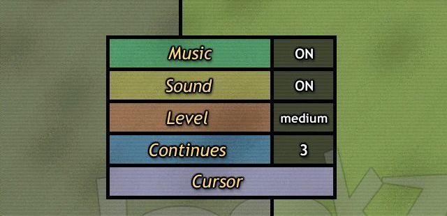 Lookz Windows  el Opciones de configuración del juego