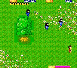 Ninja Princess Arcade  primeros enemigos