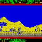 SAS Combat Simulator ZX Spectrum  El segundo nivel está en la jungla