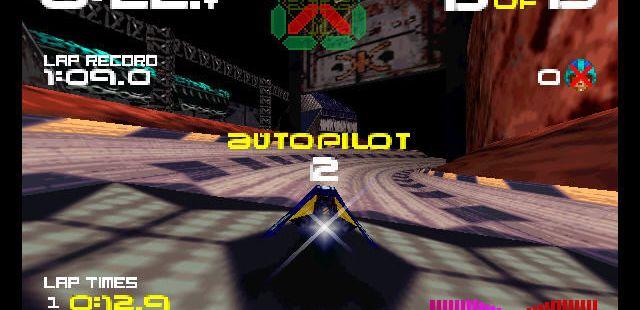 WipEout 64 Nintendo 64  Piloto automático encendido