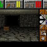 Dungeon Master II: Skullkeep DOS  Un cofre! Â¡Tesoro!