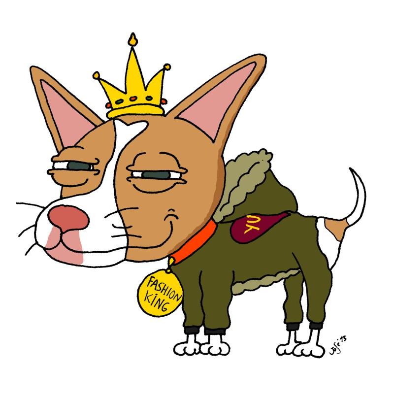 Caricatura perrito