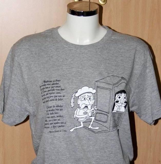 Camiseta gris Afonso Eanes