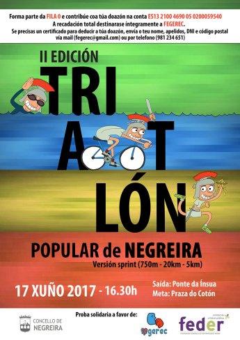Poster Triatlon Negreira