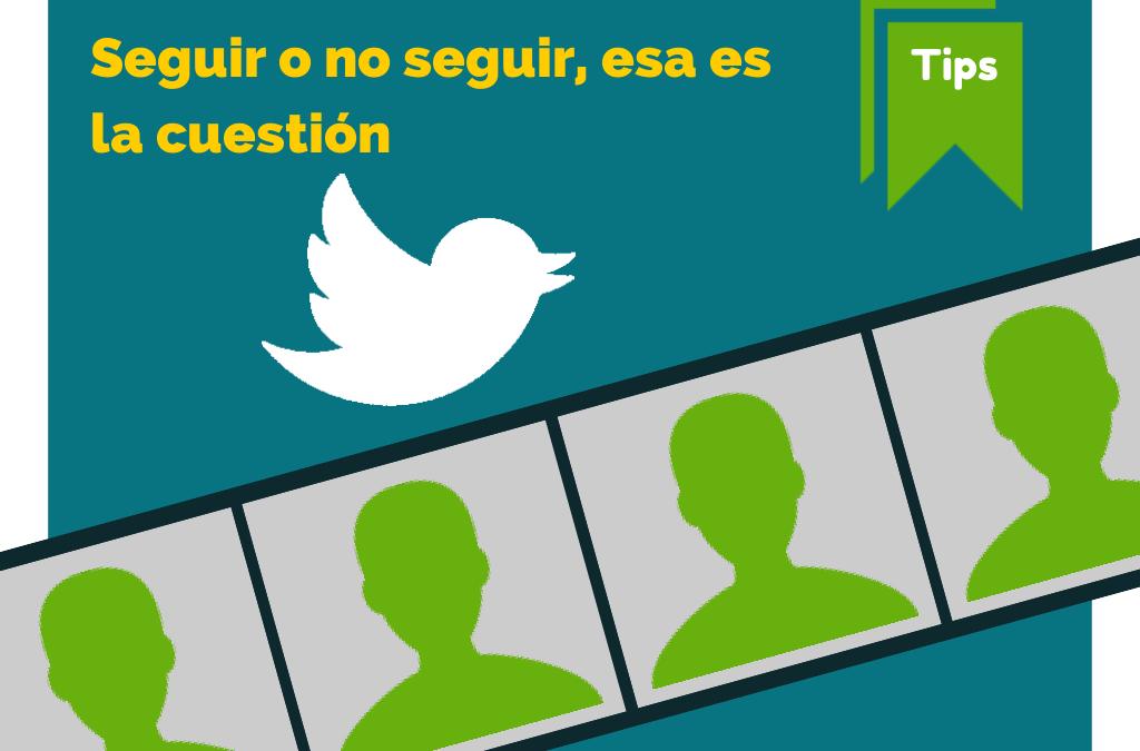 Optimizar Twitter | Usuarios para NO Seguir