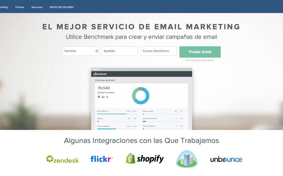 BenchMark: EmailMarketing en Español