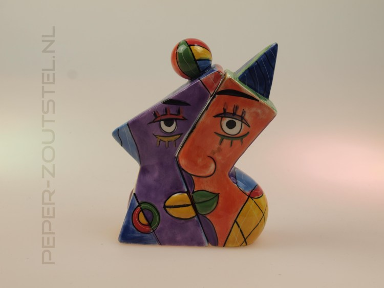 Faces-nr.-one-2-Picasso-style-peper-en-zoutstel