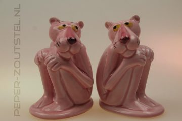 The-Pink-Panther - animatie figuren - peper en zoutstel