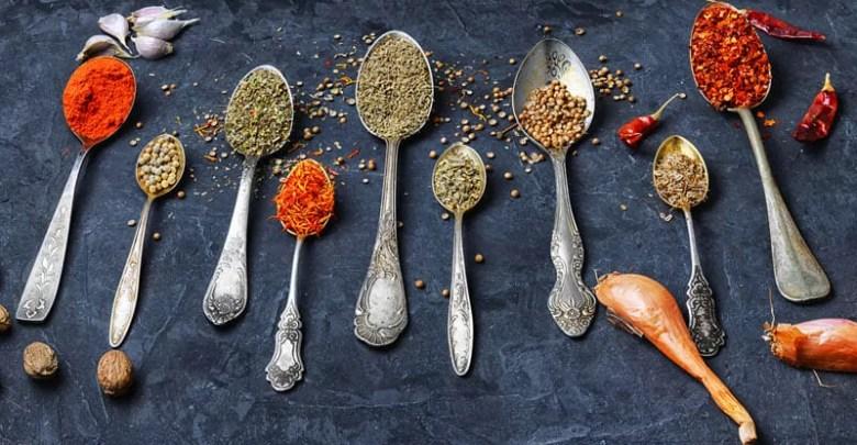 Elenco spezie indiane orientali peperoncino