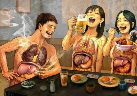 Japanese anti-smoking ad