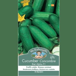 Concombre Biet Alpha F1 – Mr. Fothergill's