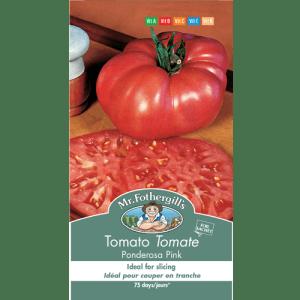 Tomate Ponderosa Pink – Mr.Fothergill's