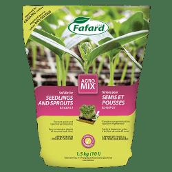 Terreau pour Semis et pousses Agromix de Fafard