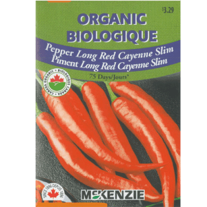 Piment Long Rouge Cayenne Slim – Mckenzie