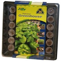 Serre pour semis 36 pastilles - Jiffy