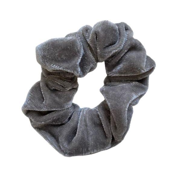 coletero terciopelo gris