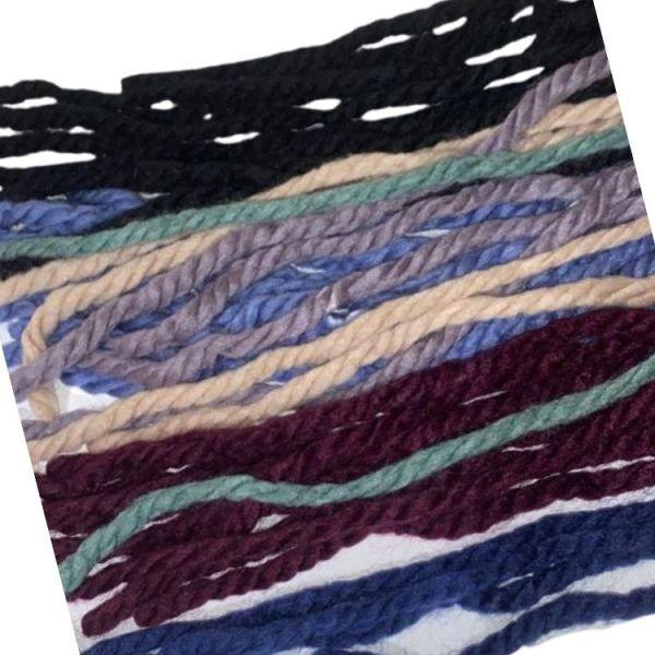 cordones lana pelo niñas