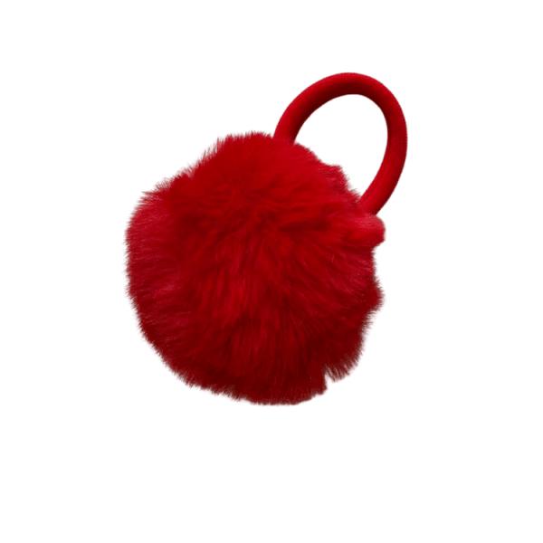 coletero pompon rojo