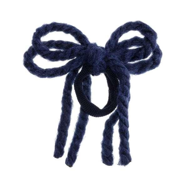 cordon pelo para niñas azul marino