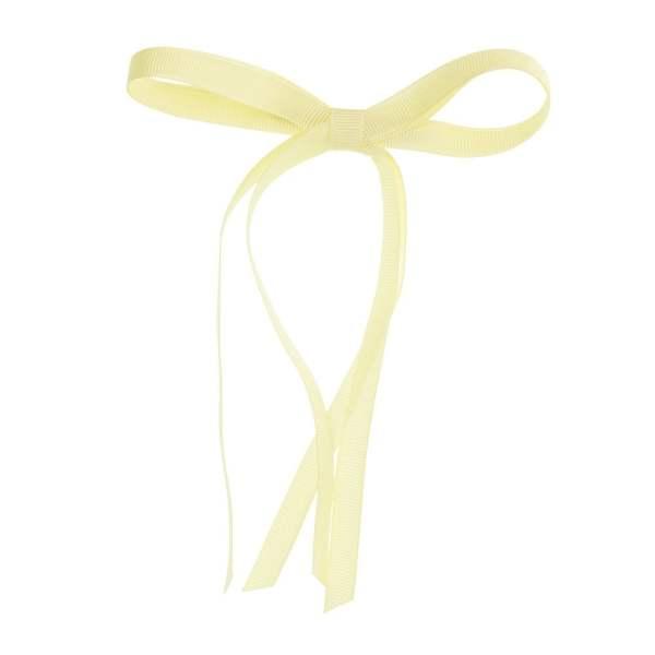 lazos niñas amarillo