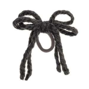 coletero cordon lana gris oscuro
