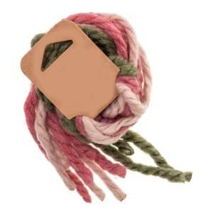 cordones de lana para el pelo
