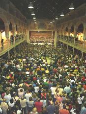 Trobada de joves estudiants d'ESO dels Països Catalans, Carcaixent. Foto d'E. Castellano.