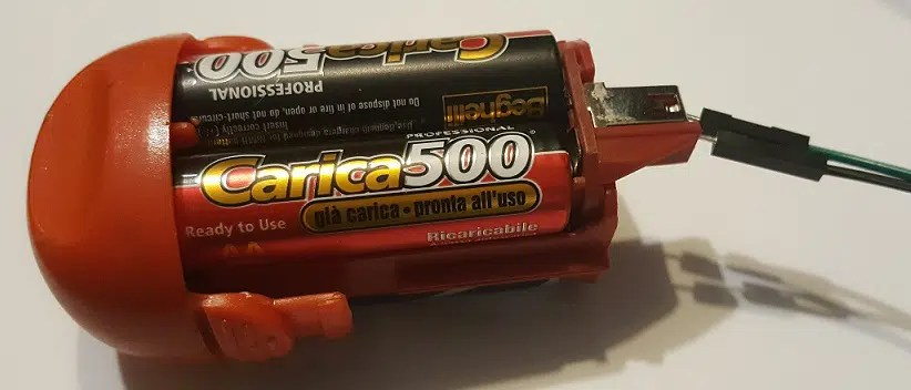 RPI motor battery pack