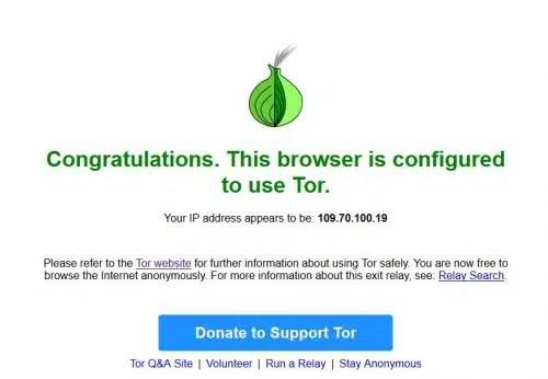 Tor Proxy Check