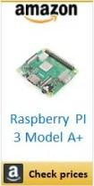 Amazon Raspberry PI 3 Model A+ box