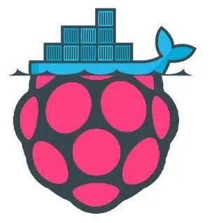 raspbian+docker logo