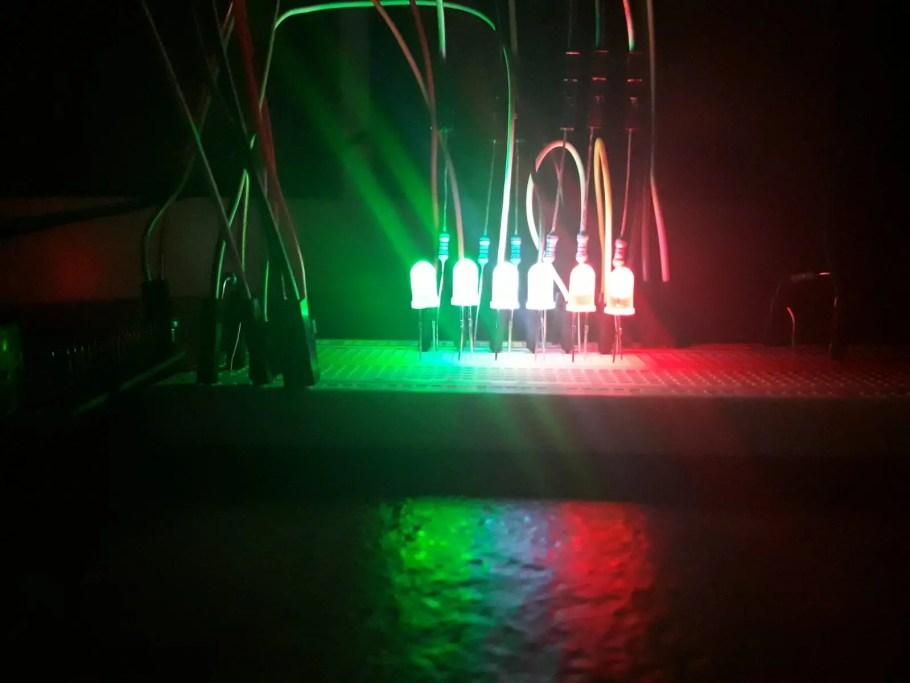 LED Italy flag