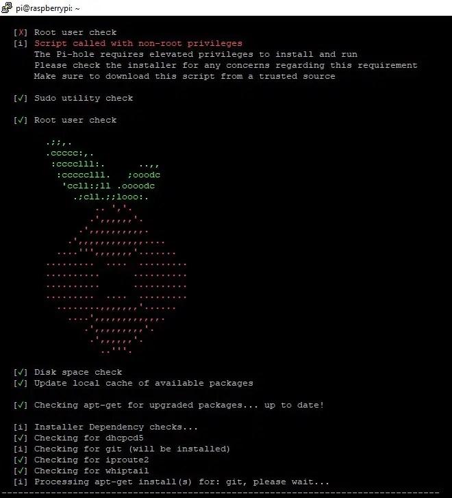 Raspberry PI pihole setup pre-checks