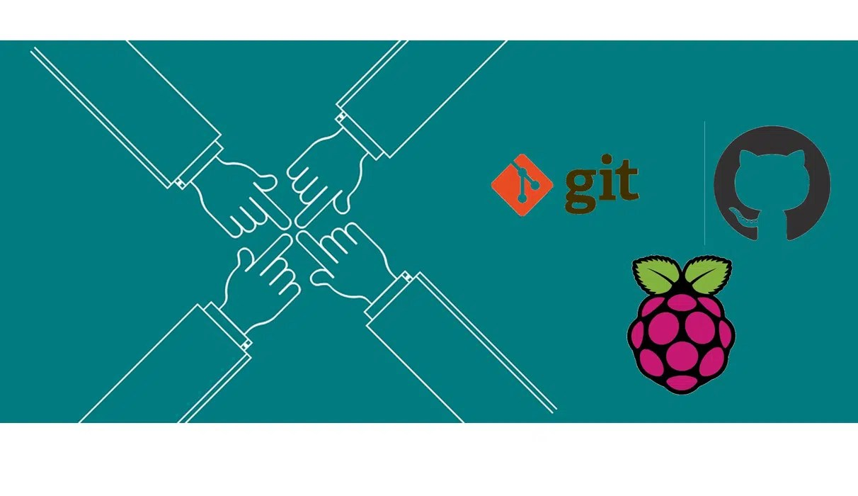 Git Github raspberry pi featured image
