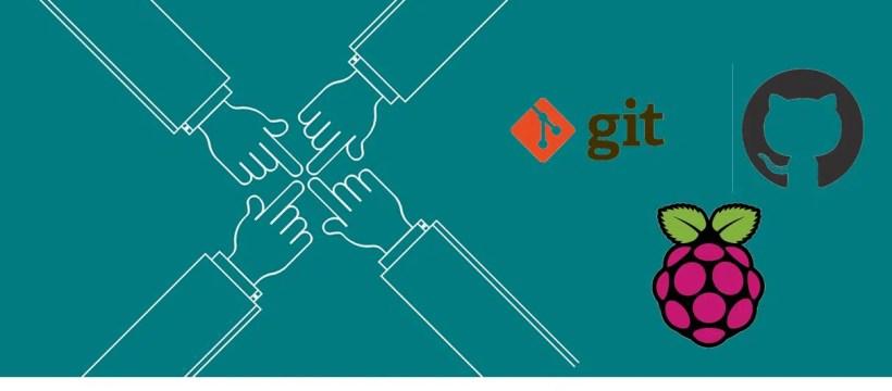Git Github raspberry pi featured image