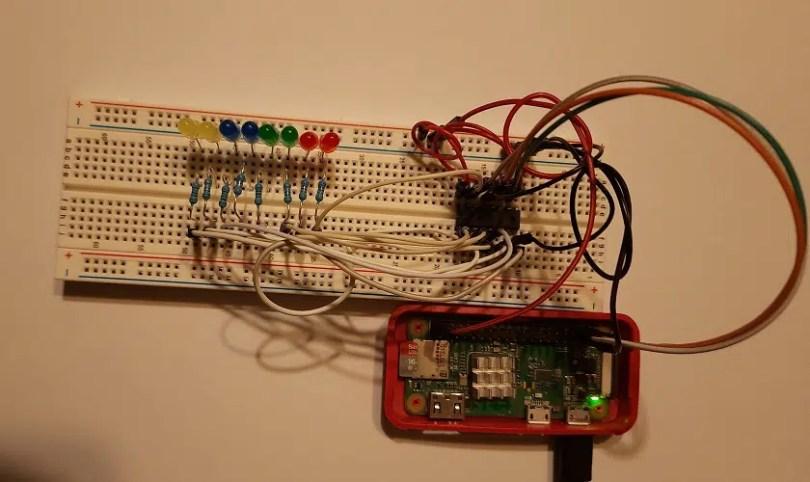 Raspberry PI Shift Register picture