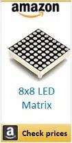 Amazon 8x8 led matrix box