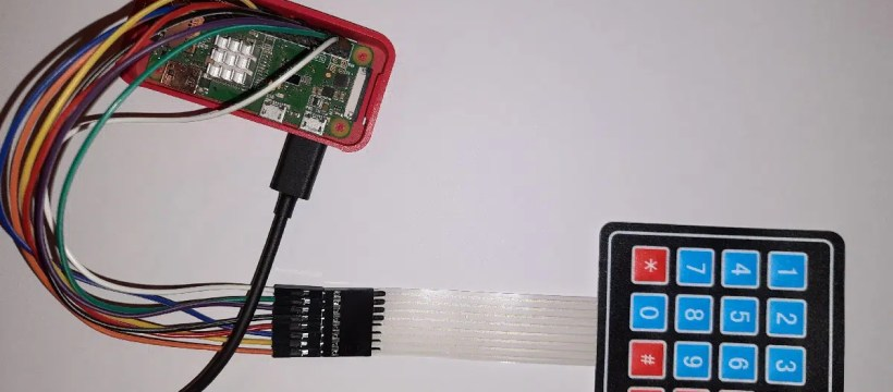 Raspberry pi 4x4 matrix keypad featured image