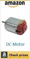Amazon DC Motor 5V box
