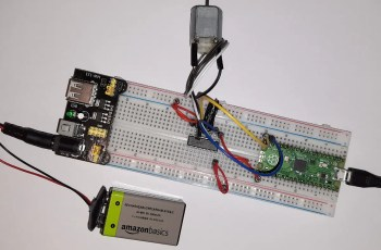 raspberry pi pico L293D dc motor featured image