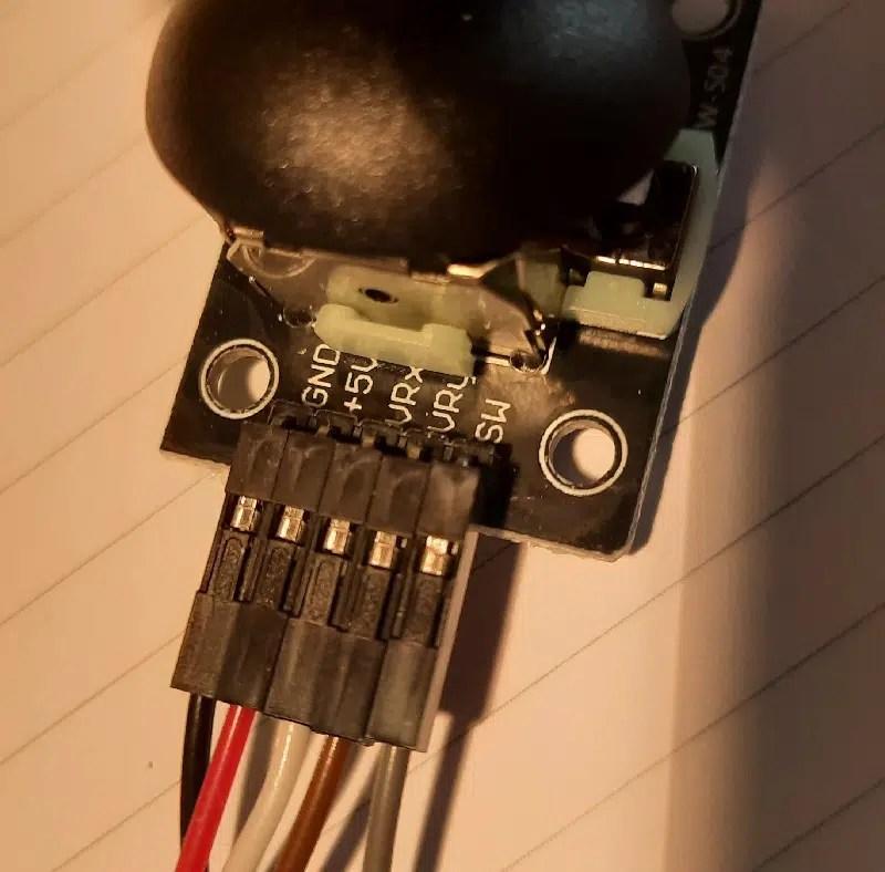 raspberry pi pico analog joystick details