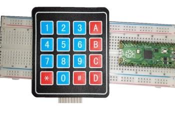 Raspberry pi pico 4x4 keypad featured image