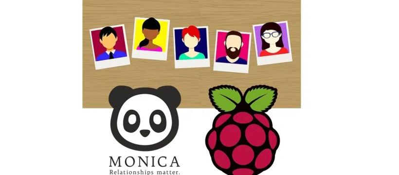 Raspberry PI Monica CRM featured image