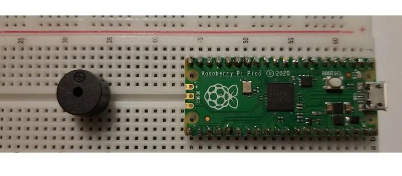 raspberry pi pico passive buzzer featured image