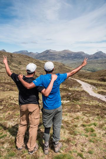 Top of Devils staircase - guys