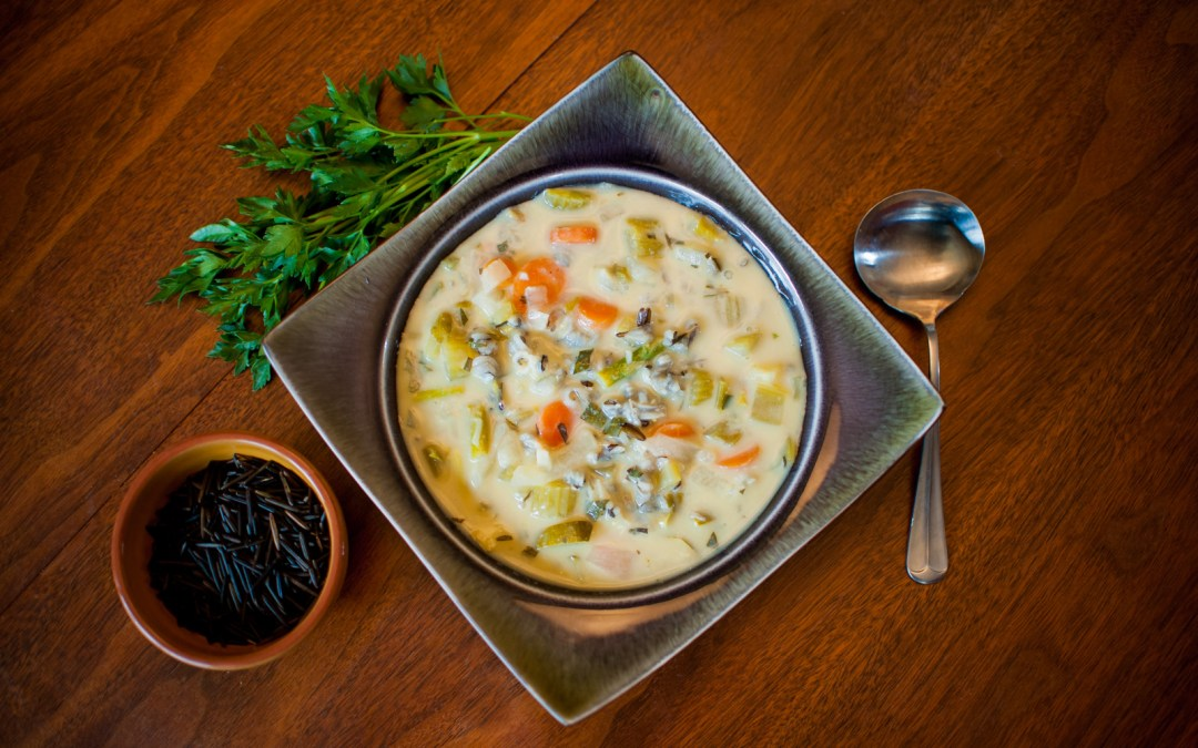 Soups are very comforting…to your body and soul