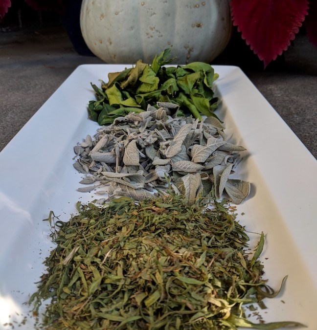 Homemade Dried Herb Mixtures