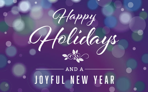 HAPPY HOLIDAYS TO YOU AND YOUR FAMILY
